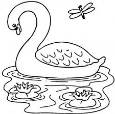 Barbie of Swan Lake Colouring Sheets 2