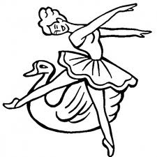Barbie of Swan Lake Colouring Sheets 3