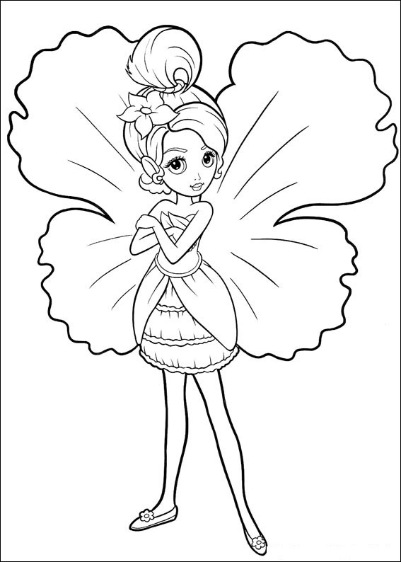 barbie coloring pages for kids printable. coloring pages are printable