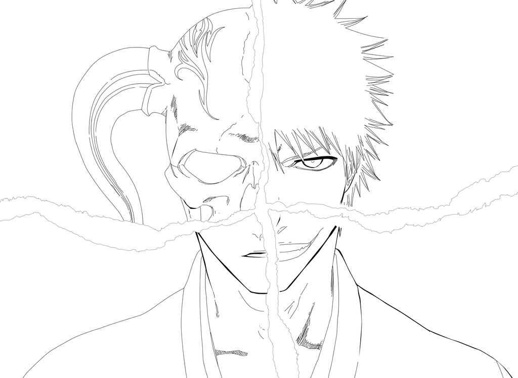 Bleach Colouring Sheets 1