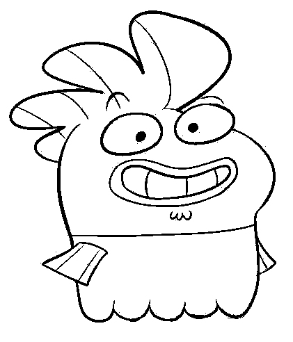 Fish Hooks Colouring Sheets 3