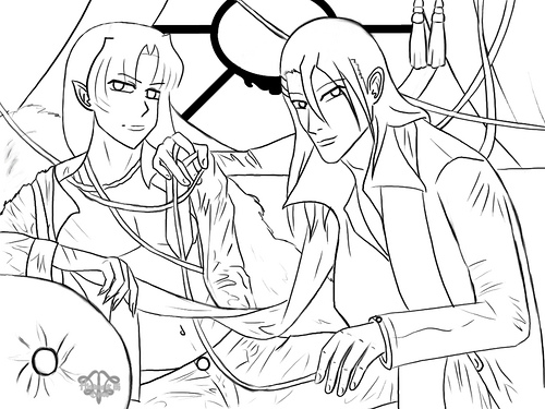 Inuyasha The Final Act Colouring Sheets 1