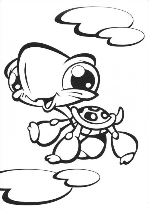 Littlest Pet Shop Colouring Sheets 1