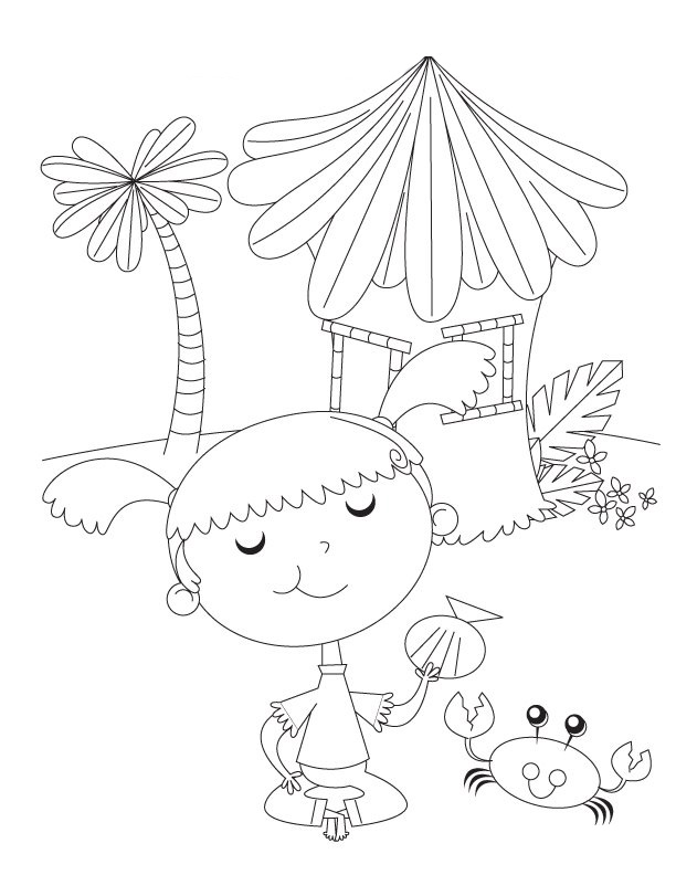 Preschool Colouring Sheets 1