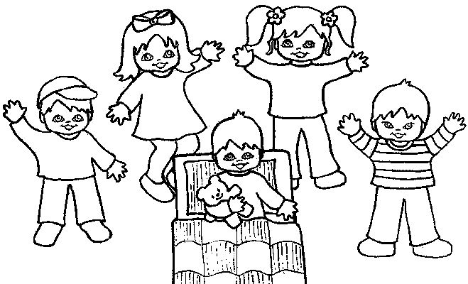 Preschool Colouring Sheets 3