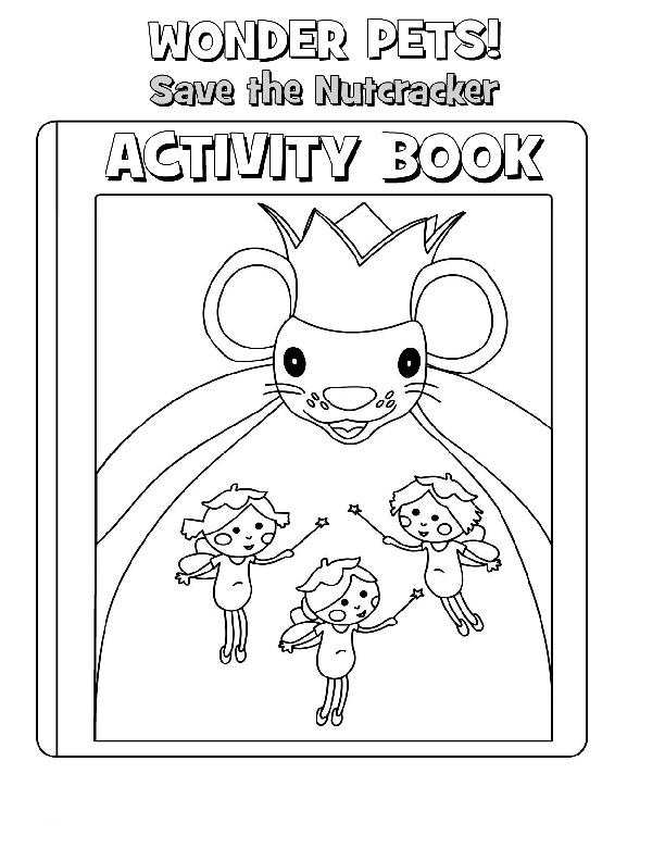 Wonder Pets Colouring Sheets 2